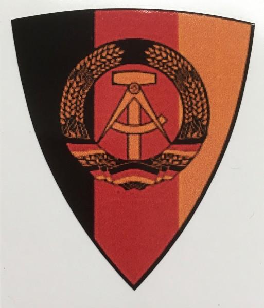 "Helmaufkleber ""DDR"" antike Ausführung"