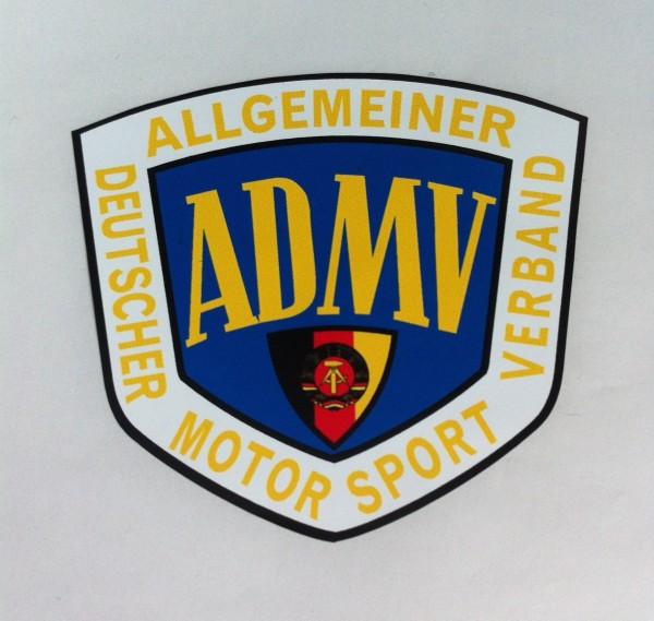 """Aufkleber """"ADMV der DDR"""""""