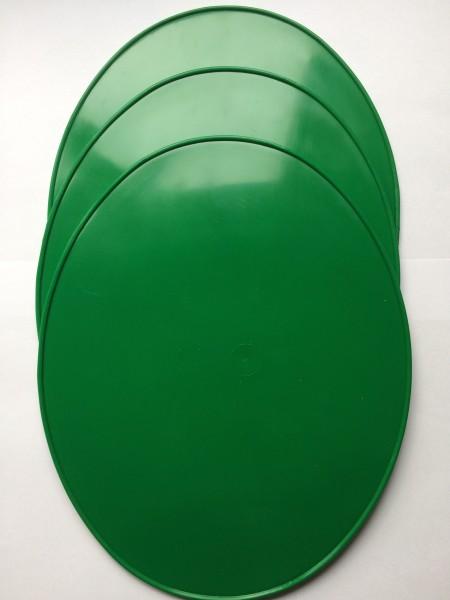 Startnummerntafel dunkelgrün