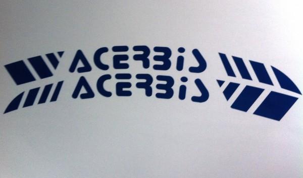 ACERBIS Kotflügeldekor blau