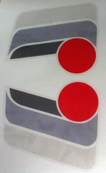 NOLAN N02 Helmdekor grau