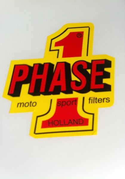 "Aufkleber ""Phase 1"""