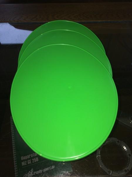 Startnummerntafel hellgrün