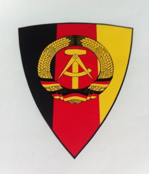 """Helmaufkleber """"DDR"""""""