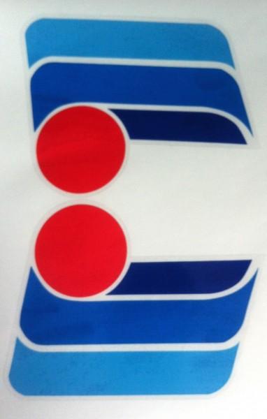 NOLAN N02 Helmdekor blau
