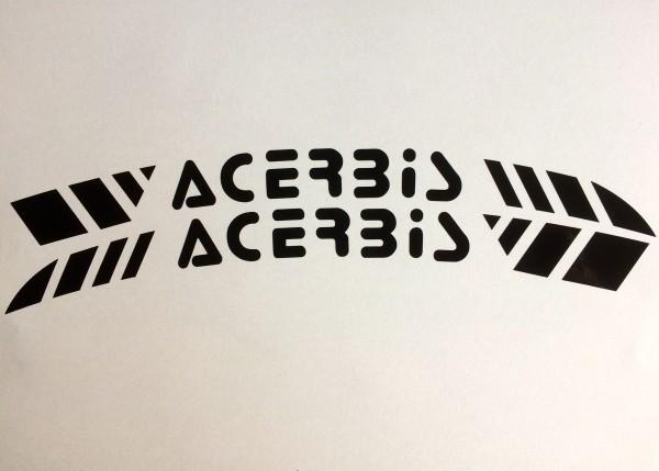 ACERBIS Kotflügeldekor schwarz
