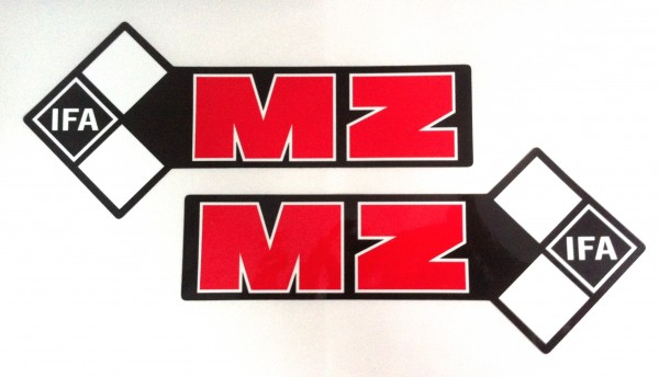 Tankaufkleber MZ 87